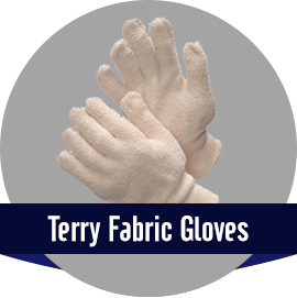 Terry Fabric Gloves